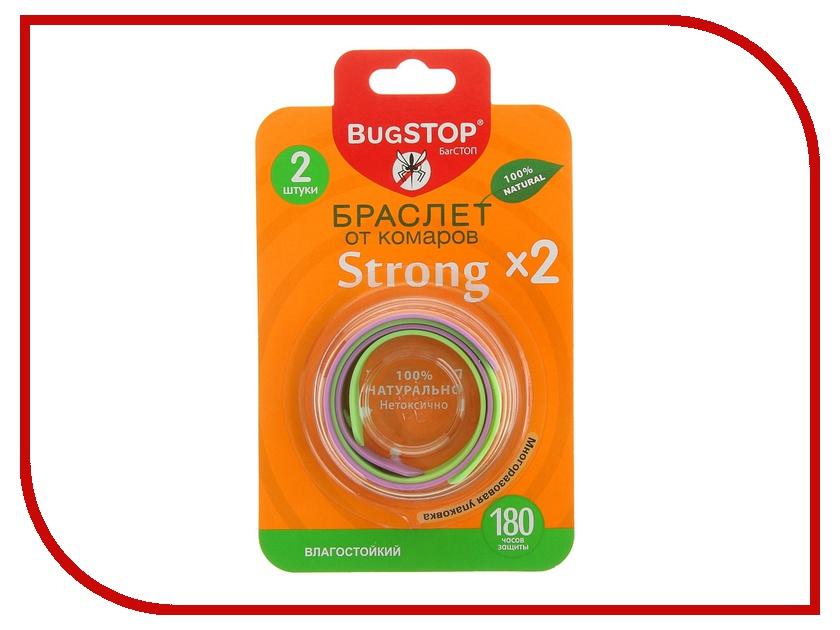 Средство защиты от комаров BugSTOP STRONGx2 856693<br>