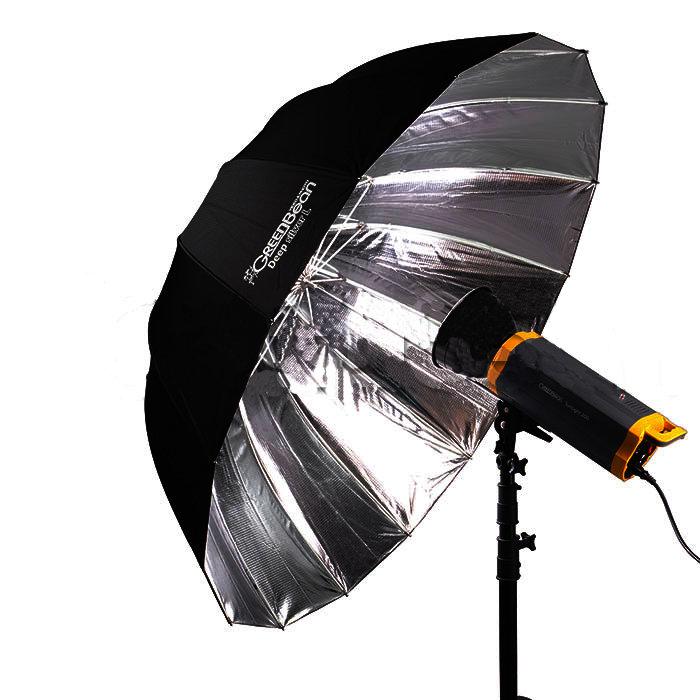 Зонт GreenBean GB Deep Silver L 130cm