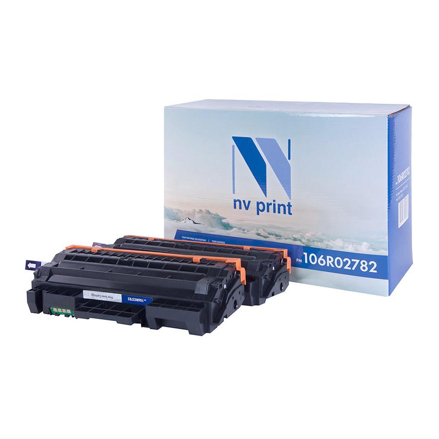 Картридж NV Print 106R02782 Black для Phaser 3052/3260/WC 3215/3225 (6000k) 2шт