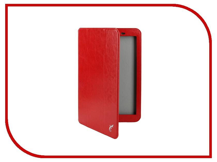 Аксессуар Чехол Huawei Media Pad T1 10.0 G-Case Executive Red GG-626
