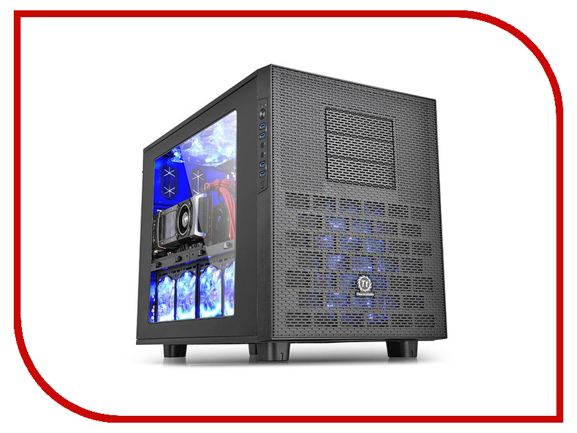 Корпус Thermaltake Core X9 CA-1D8-00F1WN-00 ca dc528