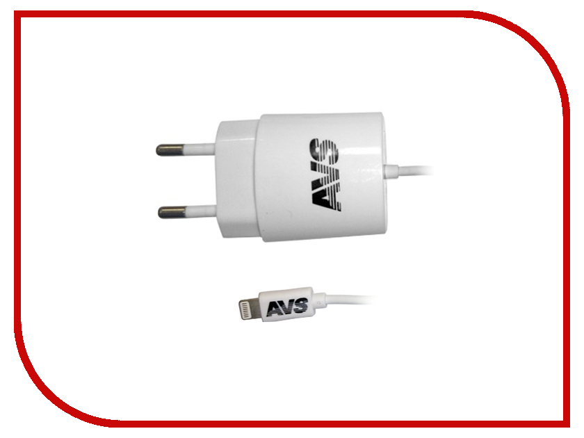 Зарядное устройство AVS для iphone 5/6 TIP-511 A78032S 1 pair silicone wire universal probe test leads pin for digital multimeter needle tip multi meter tester probe 20a 1000v