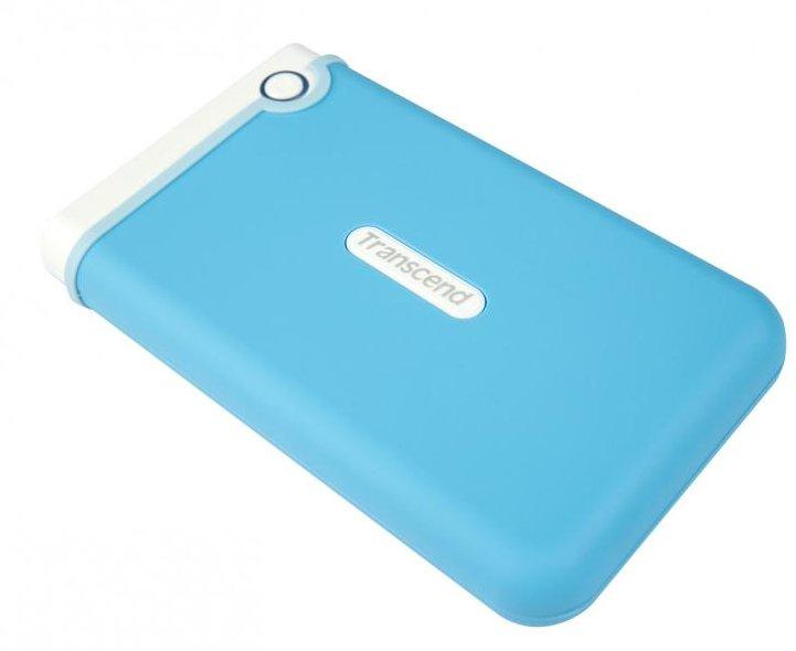 Жесткий диск Transcend StoreJet 25M3 1Tb Light Blue TS1TSJ25M3B<br>