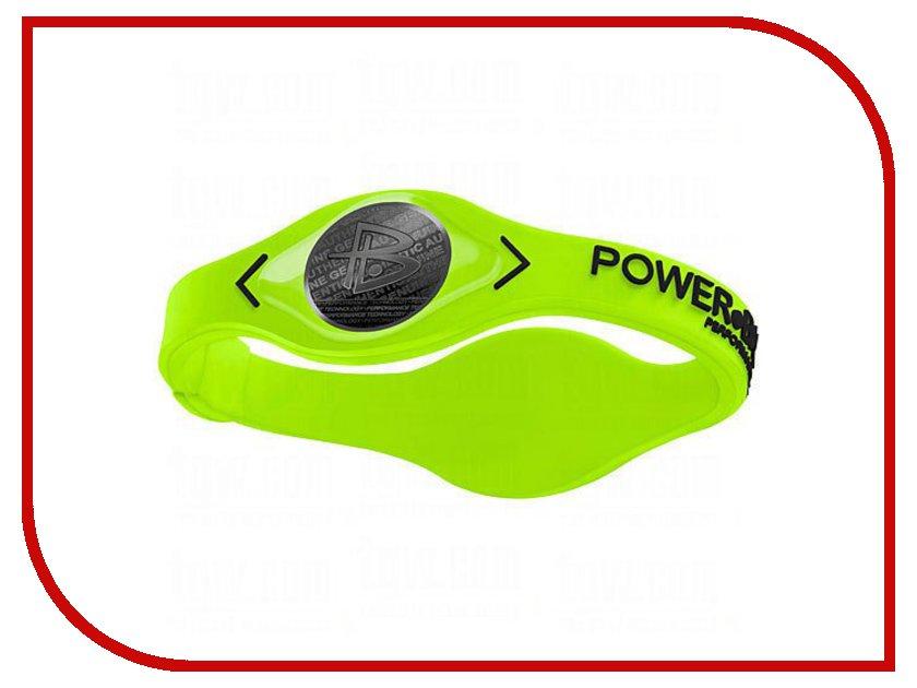 Браслет POWER BALANCE M VOLT Green/Black<br>