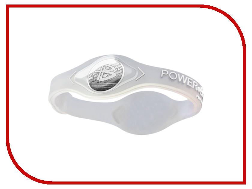 Браслет POWER BALANCE XS Core Transparent/White<br>