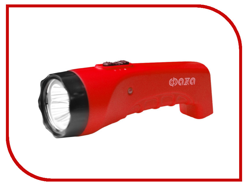 Фонарь ФАZА AccuF2-L04 Red<br>