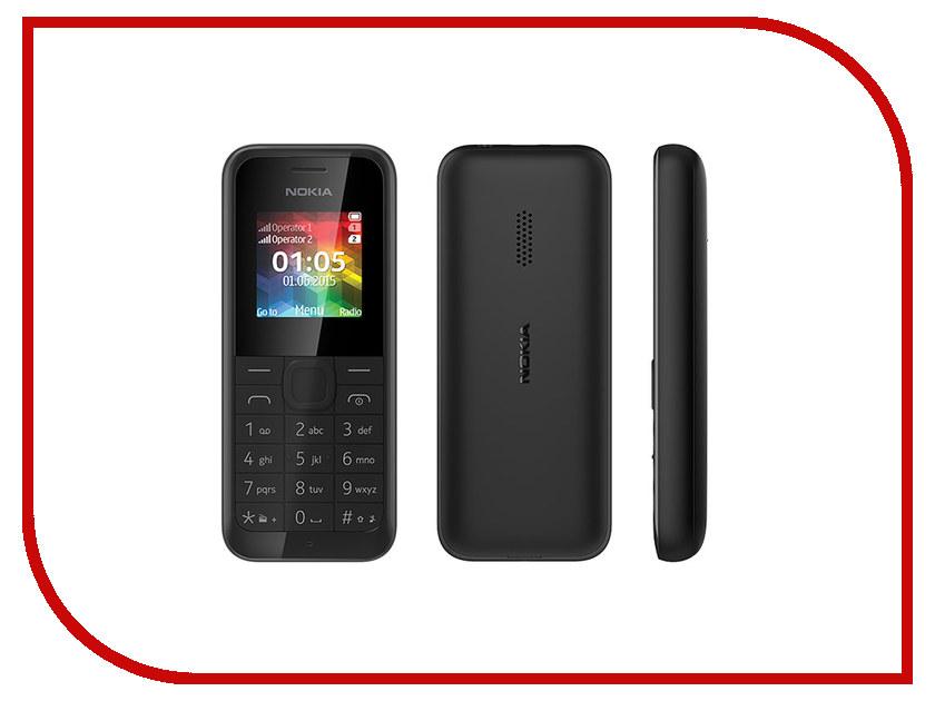 Сотовый телефон Nokia 105 Dual Sim Black