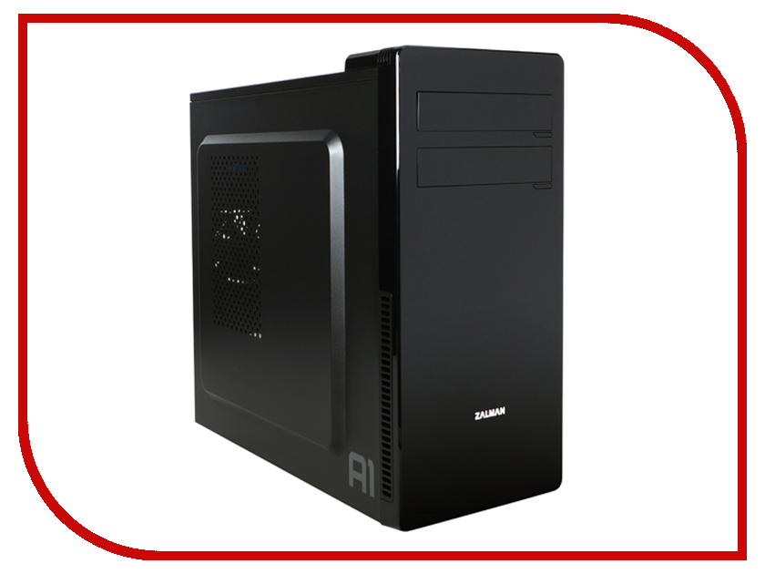 Корпус Zalman Mini Tower ZM-A1 Black<br>