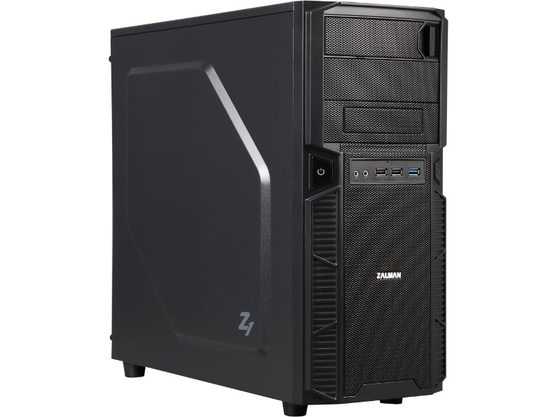 Корпус Zalman Mid Tower Z1 Black