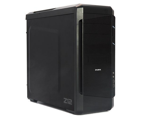 Корпус Zalman Mid Tower Z12 Black