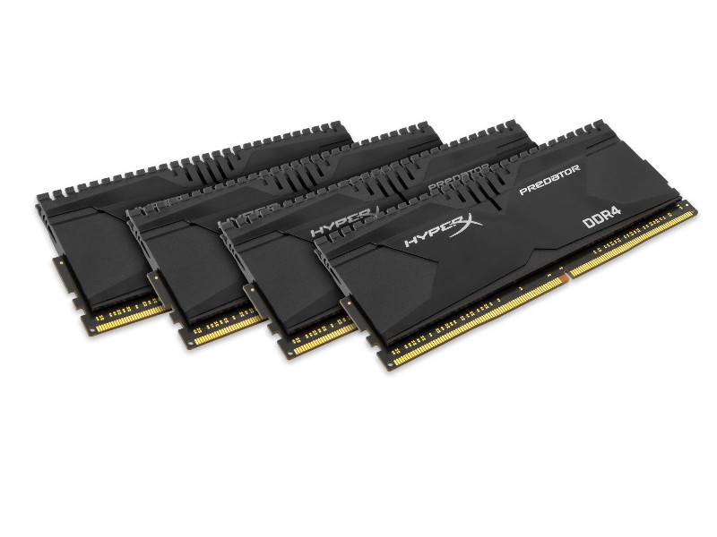 Модуль памяти Kingston HyperX Predator PC4-22400 DIMM DDR4 2800MHz CL14 - 16Gb KIT (4x4Gb) HX428C14PB2K4/16<br>