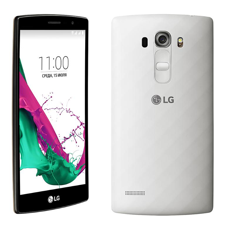 Сотовый телефон LG H736 G4S White<br>