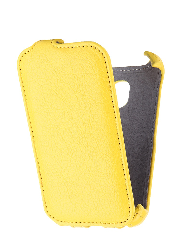 Аксессуар Чехол Alcatel One Touch Pixi 3 4009D Gecko Yellow GG-F-ALC4009D-YEL<br>