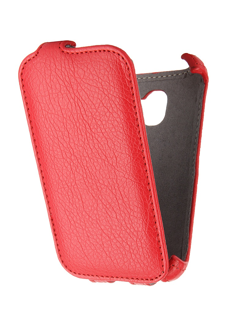 Аксессуар Чехол Alcatel One Touch Pixi 3 4009D Gecko Red GG-F-ALC4009D-RED<br>