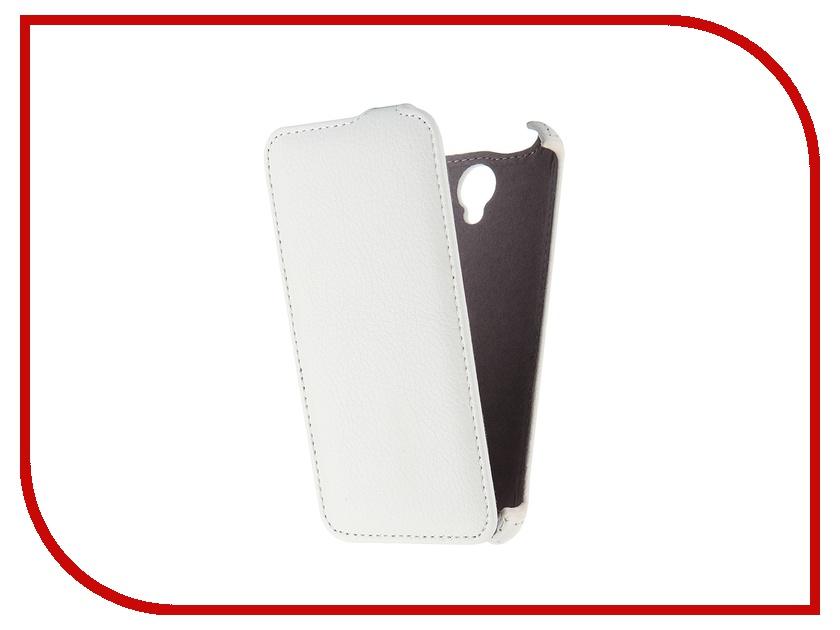 Аксессуар Чехол Lenovo A5000 Gecko White GG-F-LENA5000-WH<br>