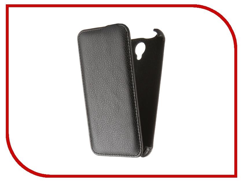 Аксессуар Чехол Lenovo A5000 Gecko Black GG-F-LENA5000-BL<br>