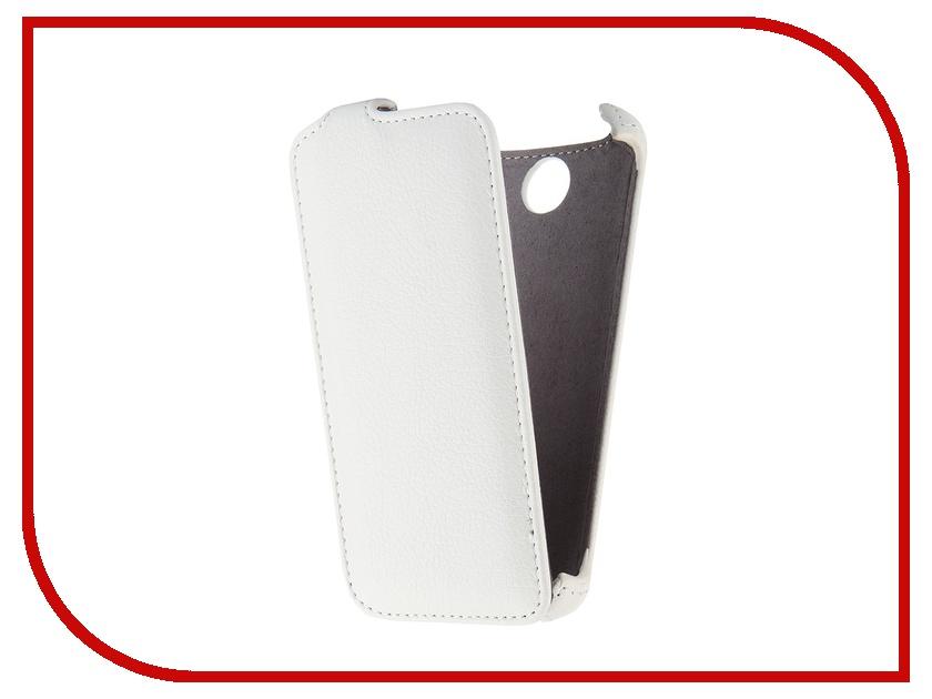 Аксессуар Чехол Lenovo A526 Gecko White GG-F-LENA526-WH