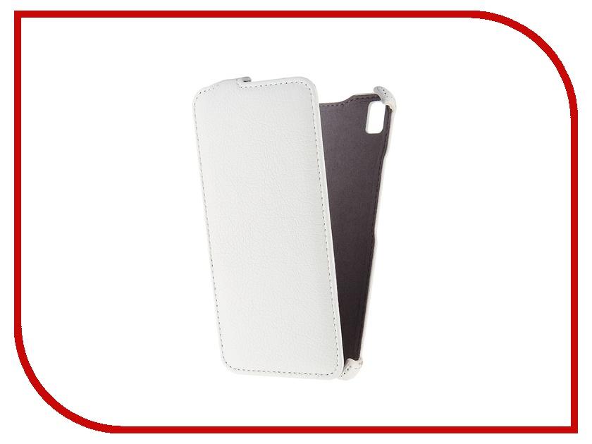Аксессуар Чехол Lenovo K3 Note Gecko White GG-F-LENK3Note-WH