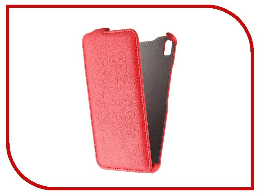 Аксессуар Чехол Lenovo K3 Note Gecko Red GG-F-LENK3Note-RED