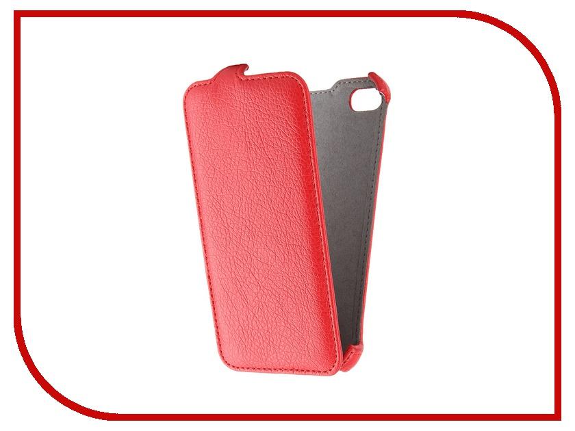 Аксессуар Чехол Lenovo S60 Gecko Red GG-F-LENS60-RED<br>