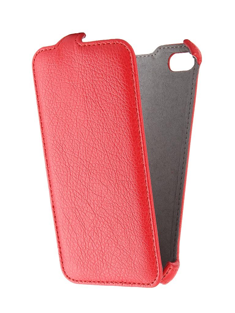 Аксессуар Чехол-книжка Samsung Galaxy J5 2016 Cojess Ultra Slim Экокожа Флотер Red