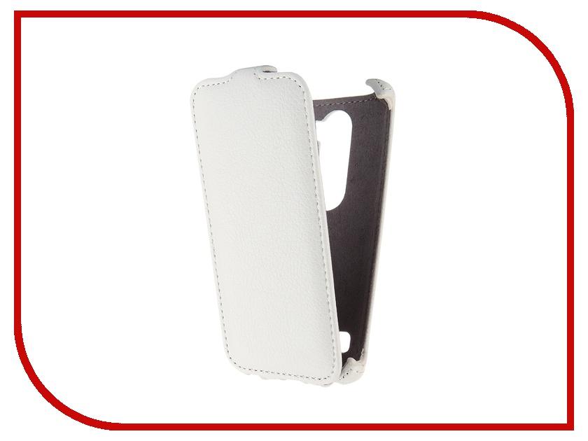 Аксессуар Чехол LG Leon H324 Gecko White GG-F-LGH324-WH