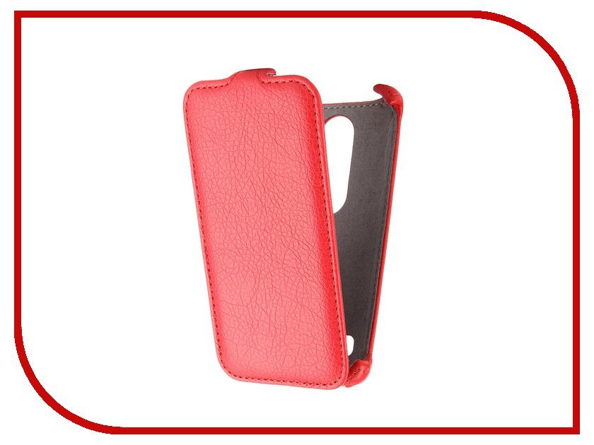 Аксессуар Чехол LG Leon H324 Gecko Red GG-F-LGH324-RED<br>