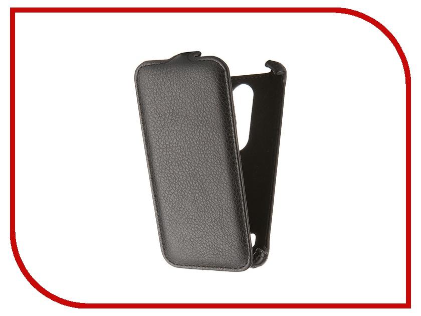 Аксессуар Чехол LG Leon H324 Gecko Black GG-F-LGH324-BL<br>