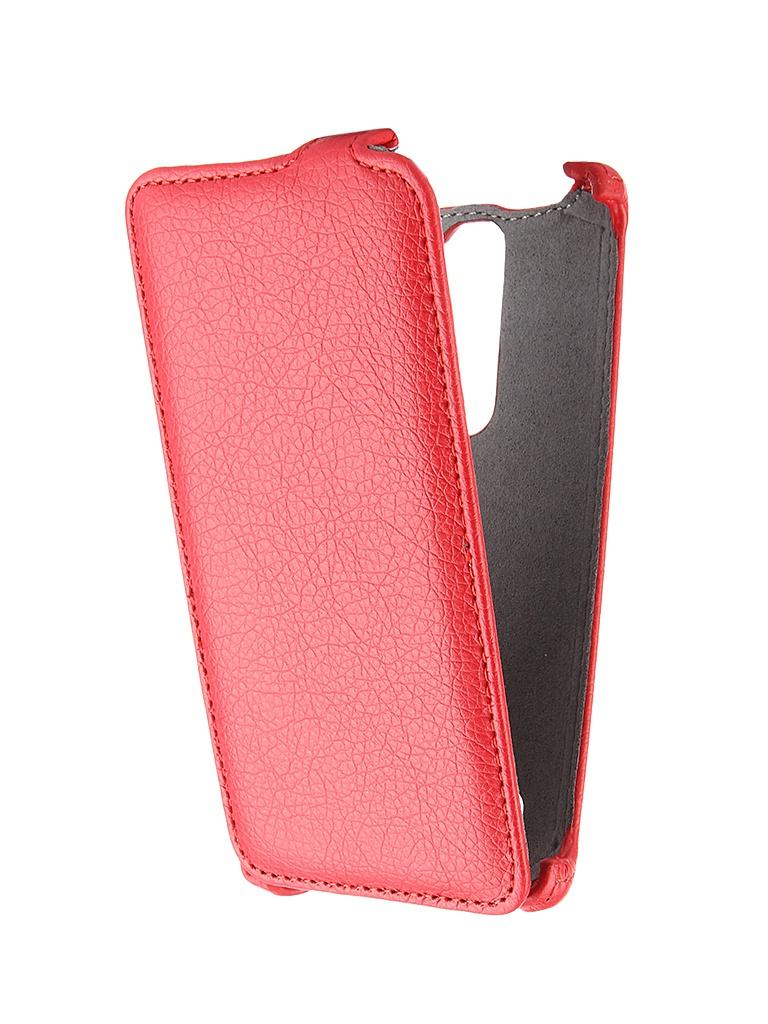 Аксессуар Чехол-книжка LG Magna H502 Gecko Red GG-F-LGH502-RED