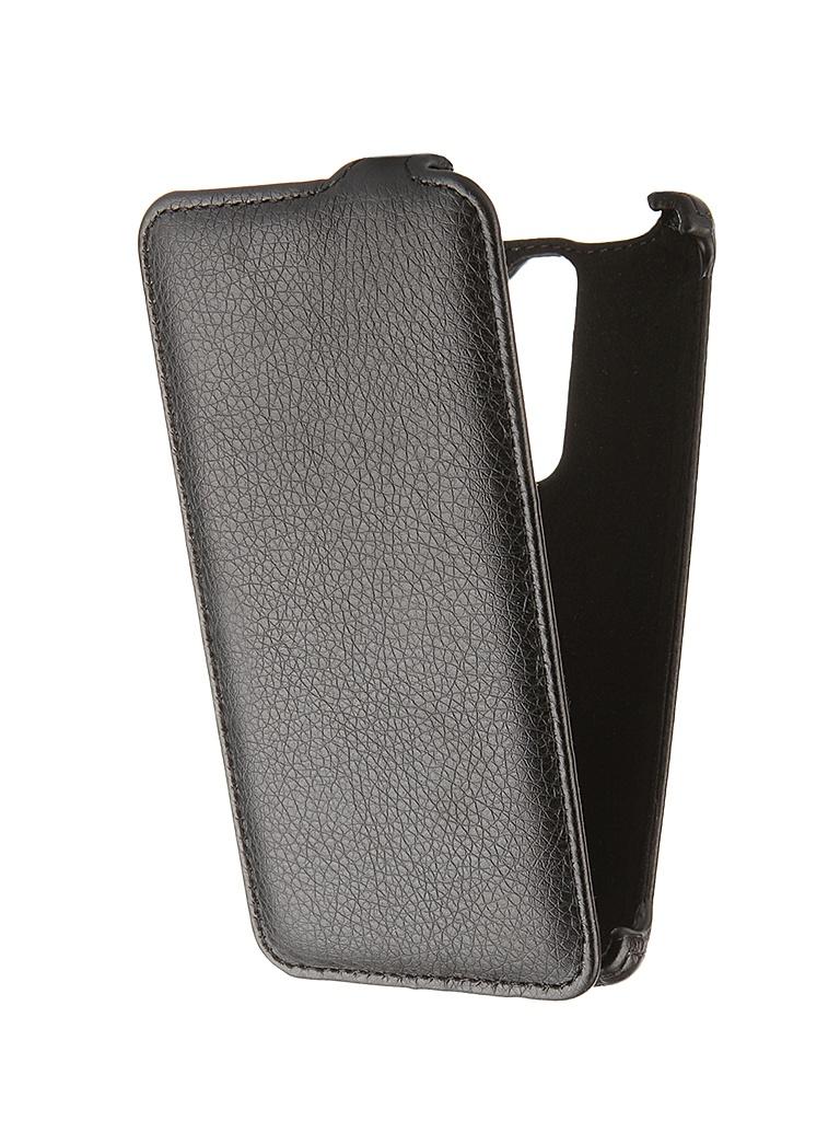 Аксессуар Чехол-книжка LG Magna H502 Gecko Black GG-F-LGH502-BL