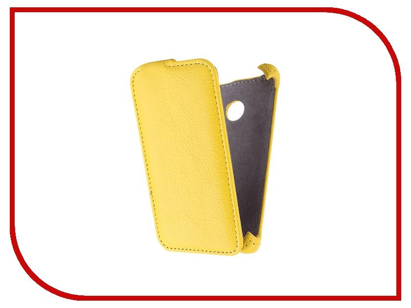 Аксессуар Чехол Microsoft Lumia 435 Gecko Yellow GG-F-MICL435-YEL<br>