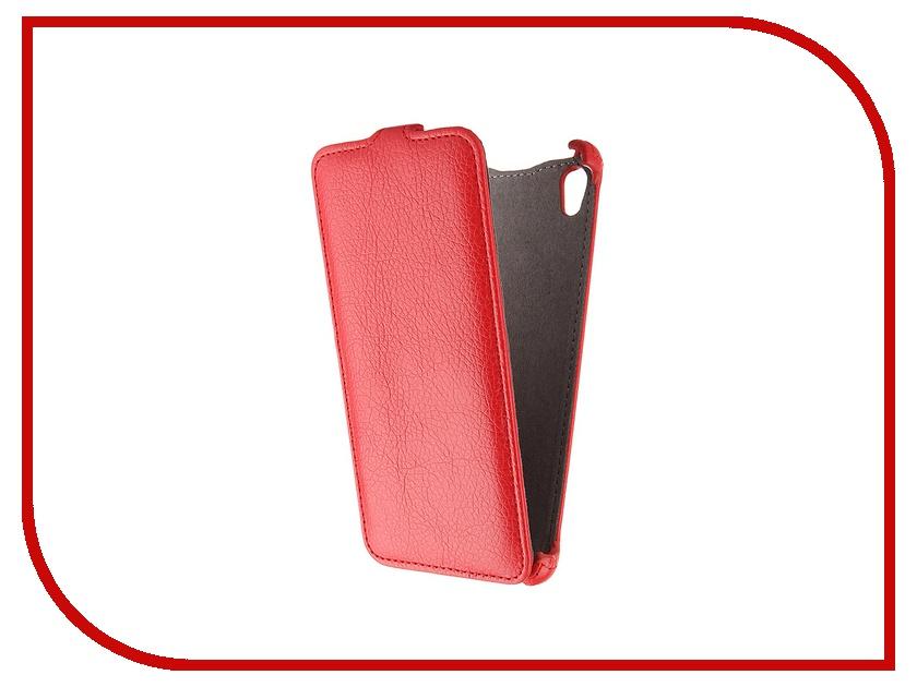 Аксессуар Чехол Sony Xperia Z3+/Z3+ Dual E6553/E6533 Gecko Red GG-F-SONZ3+-RED аксессуар чехол xiaomi redmi note 4 gecko red gg f xmrnote4 red