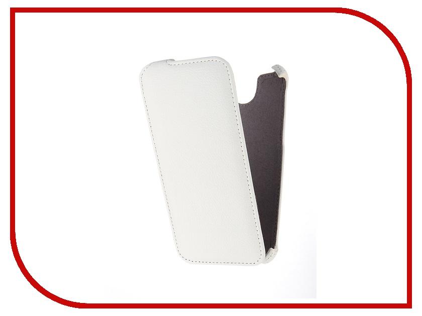 Аксессуар Чехол HTC One E9+ Gecko White GG-F-HTC1E9-WH<br>