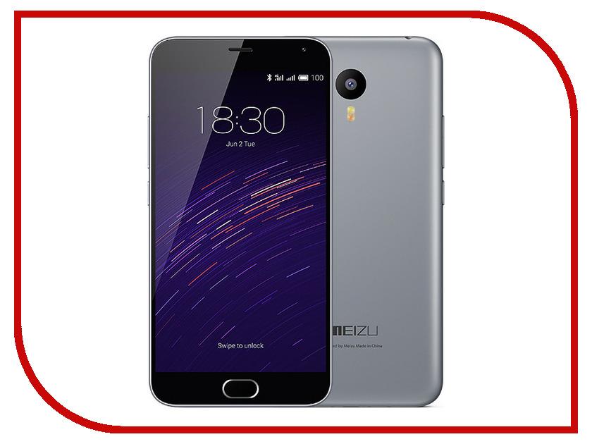 Сотовый телефон Meizu M2 Note 16Gb Grey<br>
