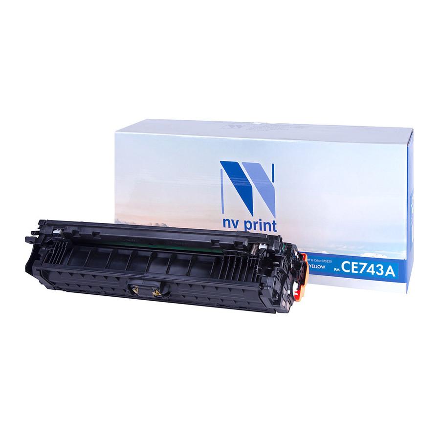 Картридж NV Print CE743A Magenta для HP LJ CP5225