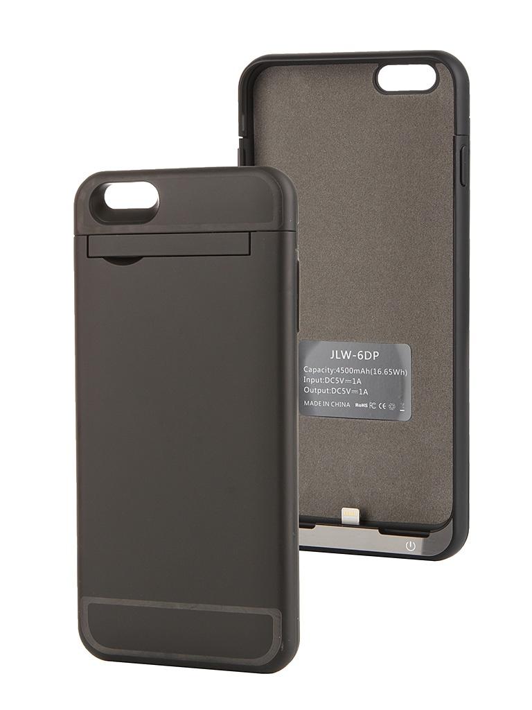 Аксессуар Чехол-аккумулятор Ainy 4500 mAh для iPhone 6 Plus Black