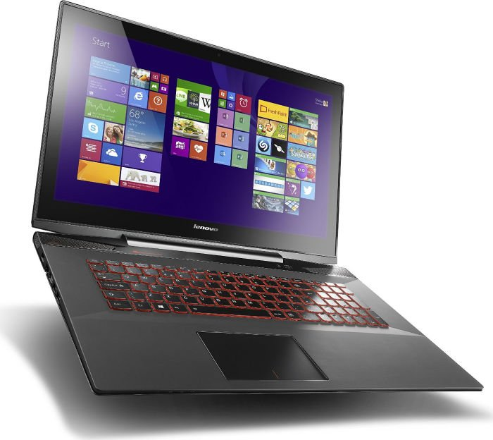 Ноутбук Lenovo IdeaPad Y7070 80DU00EFRK Intel Core i7-4720HQ 2.6 GHz/16384Mb/1000Gb + 8Gb SSD/DVD-RW/nVidia GeForce GTX 960M 4096Mb/Wi-Fi/Bluetooth/Cam/17.3/1920x1080/Touchscreen/Windows 8.1 64-bit 303439<br>