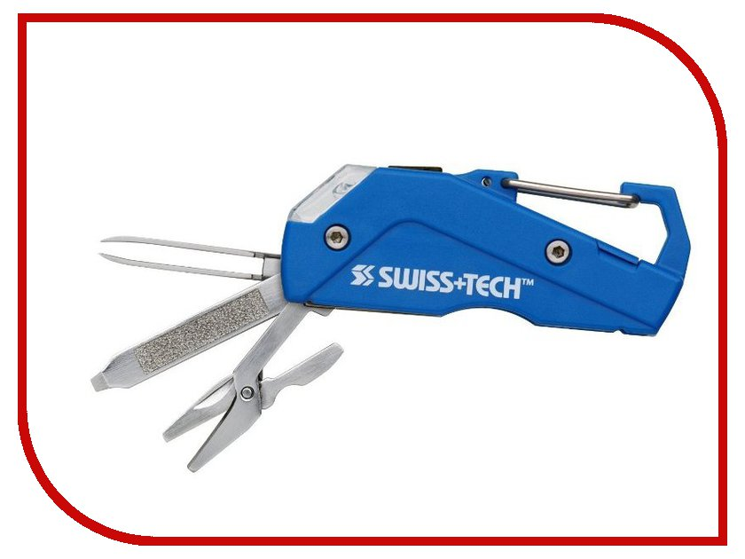 Мультитул SwissTech Modular Tool System Personal Care Blue ST33404<br>