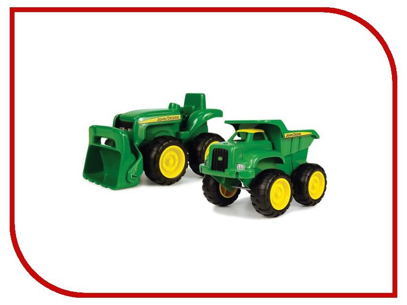 Игрушка Tomy John Deere Green ТО42952 tomy britains трактор john deere 6210r