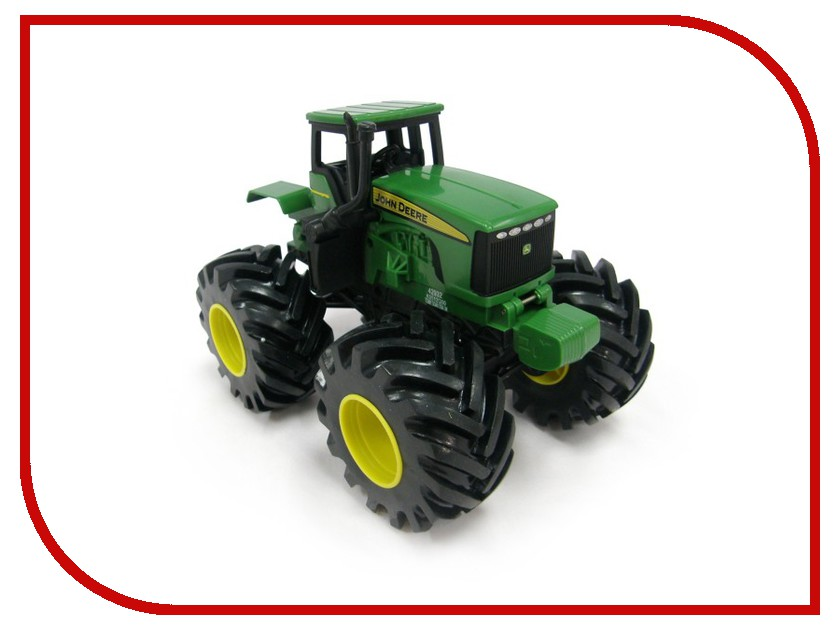 Машина Tomy John Deere Monster Treads Green ТО42932 машина tomy john deere mega monster wheels т11312