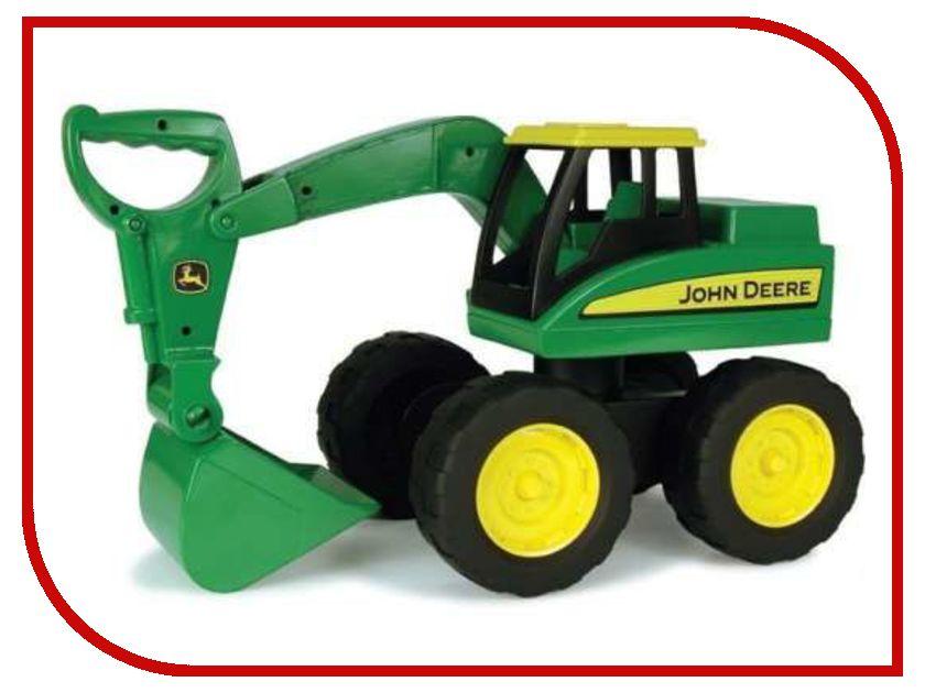Машина Tomy John Deere Green ТО35765 машинки tomy трактор john deere monster treads с большими резиновыми колесами tomy