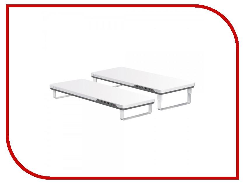 Аксессуар Satechi F3 Smart Monitor Stand White