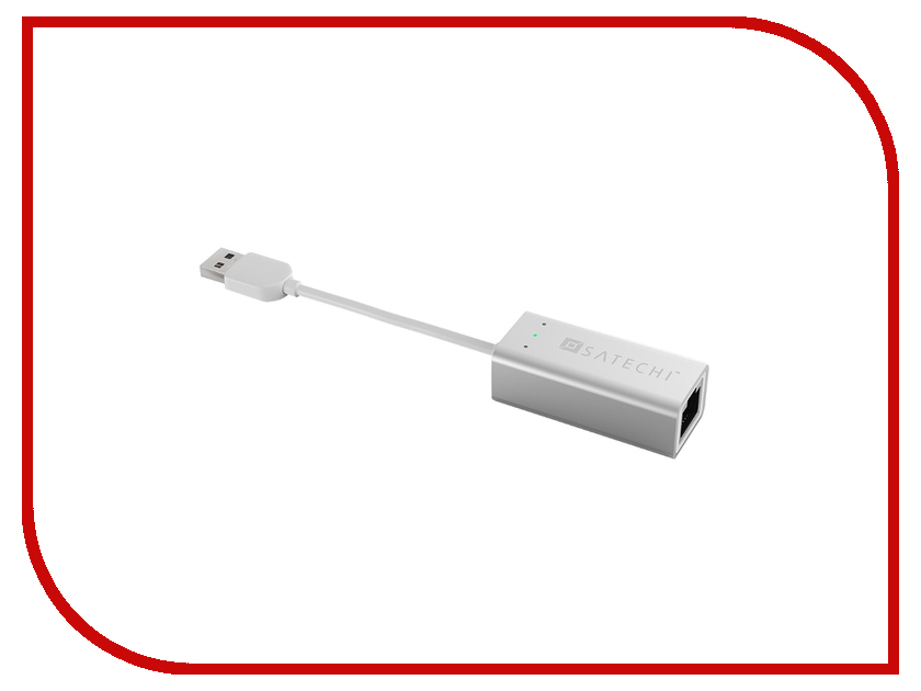 Сетевая карта Satechi USB 3.0 Gigabit Ethernet LAN Network B00QQV274O