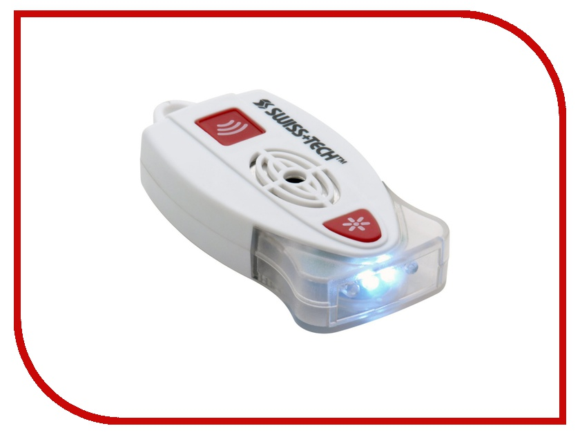 Фонарь Swiss+Tech BodyGard Personal Alarm White-Red ST81301<br>