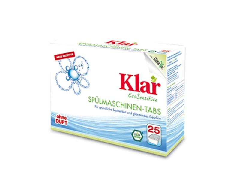 Средство KLAR таблетки для мытья посуды для посудомоечных машин гипоаллергенные ЭКО 0.5kg 6620500 от Pleer