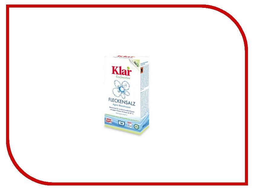 Средство KLAR отбеливатель с активным кислородом гипоаллергенный ЭКО 0.4kg 6606400