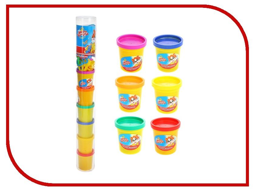 Набор для лепки Школа талантов Тесто для лепки 6 цветов 895800