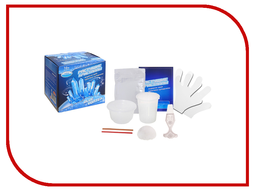 Набор для выращивания кристаллов Школа талантов Blue vortex 917764