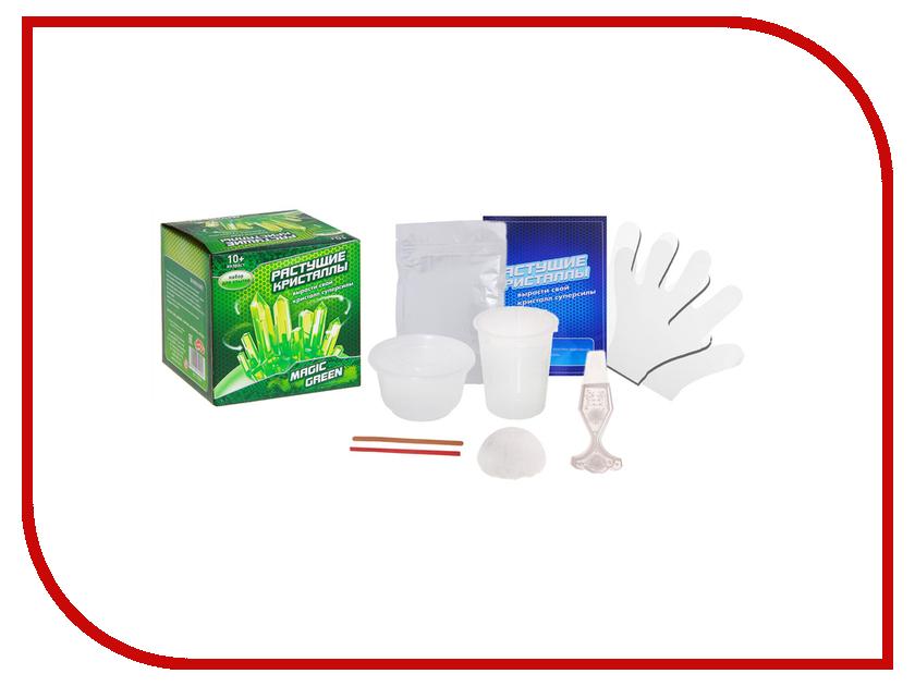 Набор для выращивания кристаллов Школа талантов Magic green 918624