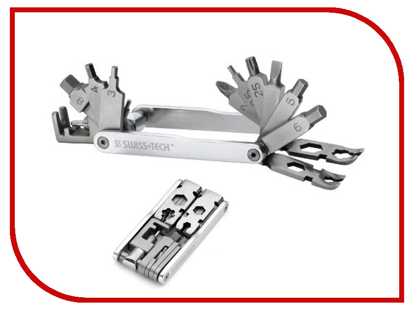 Мультитул Swiss+Tech Rx20 Deluxe Cycling Tool ST35060<br>